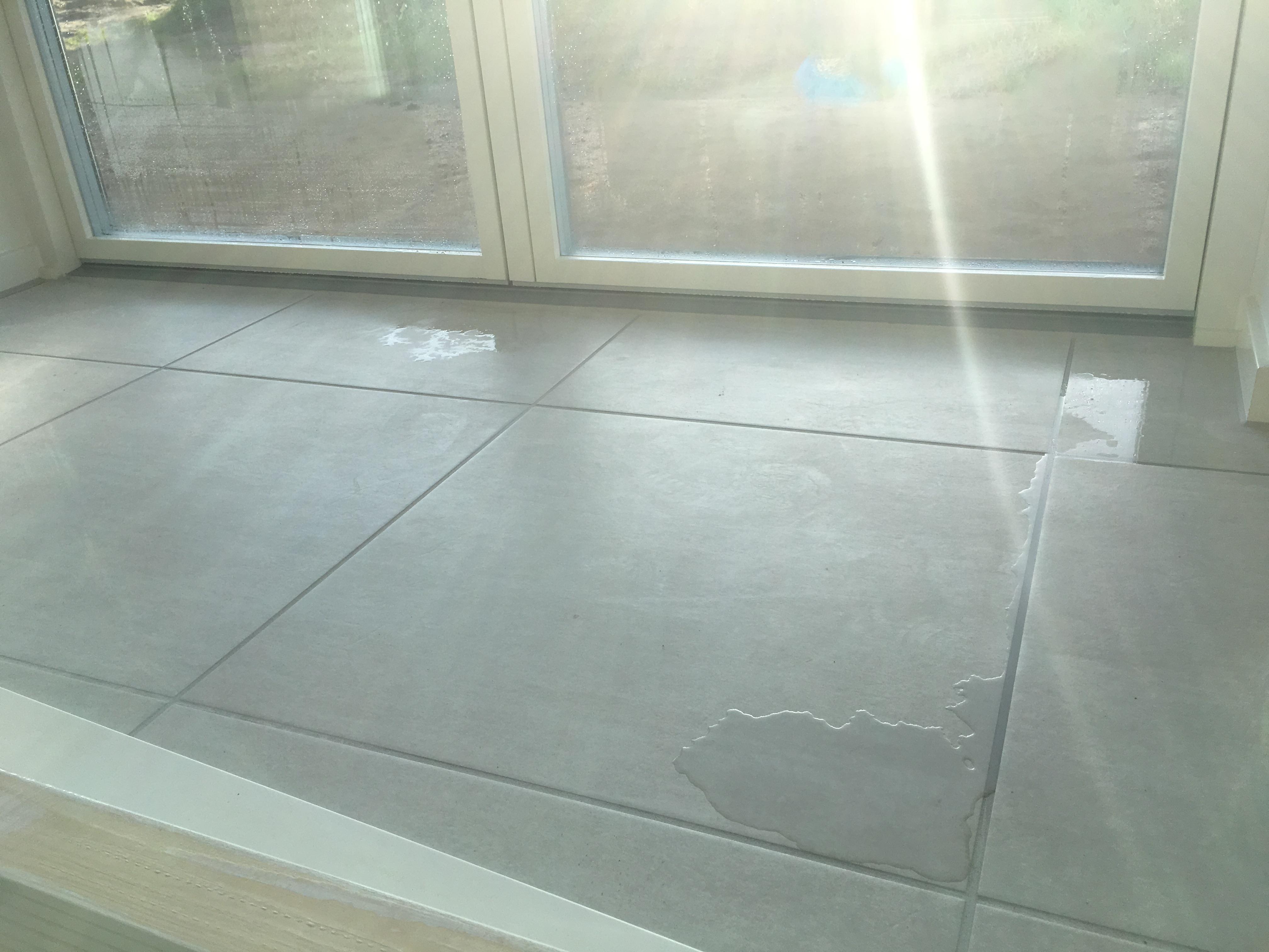 epoxy gulv blå
